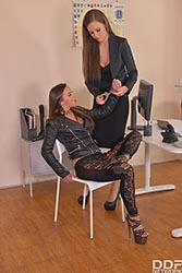 Amirah in 'Lesbian Hooker Humiliated'
