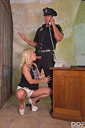Kathia Nobili in 'Officer, I Need My Ass Fucked'