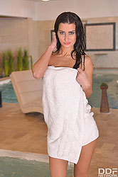 Ariadna in 'Naughty Russian Spa Babes'