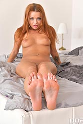Daphne Klyde in 'Hot Czech's Feet Fucked'