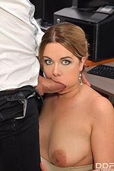 Nikky Dream in 'Cock Sucking At Work'