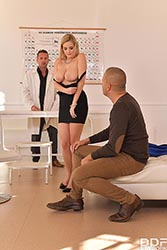 Candy Alexa in 'Chocked & DP'ed at the Clinic'