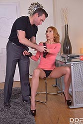 Marilyn Crystal in 'Student Spanked into Submission'