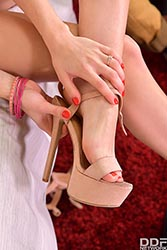 Tiffany Tatum in 'Horny for Frisky Footplay'