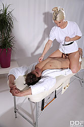 Blanche Bradburry in 'Mistress of Massage'