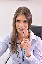 Lana Seymour in 'Squirting At The Office'