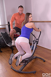Jenifer Jane in 'Foot Play Fitness'