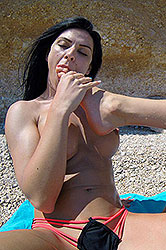 Kitana Lure in 'Lesbians Foot Fucking Under The Sun'