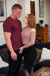 Ella Hughes in 'X-Rated After Work Oral'