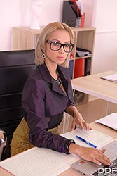 Veronica Leal in 'Squirting Secretary'