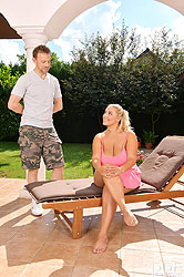 Krystal Swift in 'Summer Garden Titty Fuck'
