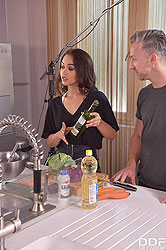 Ginebra Bellucci in 'From Cooking To Fucking'