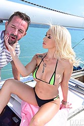 Christina Shine in 'Hardcore Fuck on the Yacht'