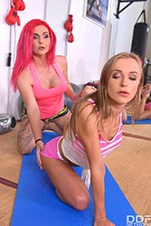 Aislin in 'Pussy Eating Yoga Babes'