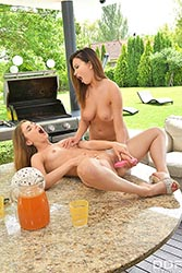 Mary Rock in 'Deliciously Naughty Lesbian BBQ'