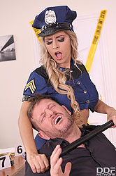 Mia Linz in 'Sorry, I'm So Horny, Officer!'