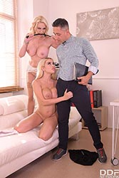 Victoria June in 'Must-see Office Threesome'