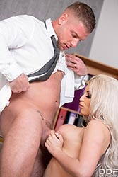 Brooklyn Blue in 'Banker Fucked By Busty Blonde'
