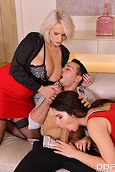 Angel Wicky in 'A Hot Threesome Initiation'